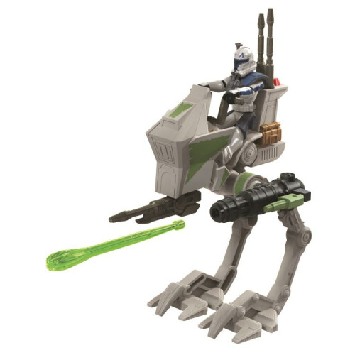 Star Wars Mission Fleet Captain Rex with AT-RT