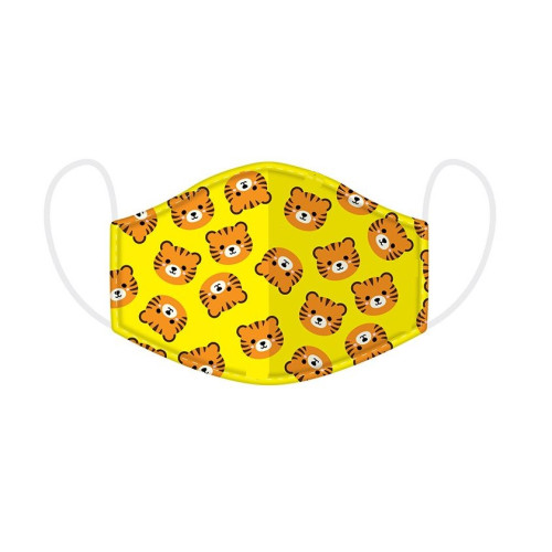 Re-usable Face Cover - Small - Tiger