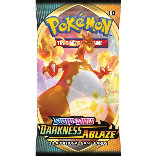 Pokemon TCG Sword & Shield Darkness Ablaze Booster Pack