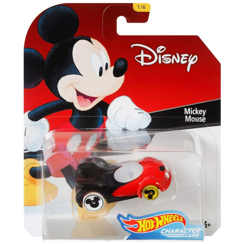 Hot Wheels Disney Character Cars Series 1 - Mickey Mouse