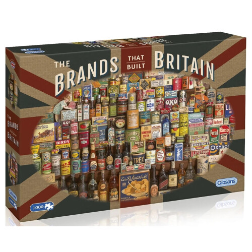 Gibsons The Brands That Built Britain 1000pc Puzzle