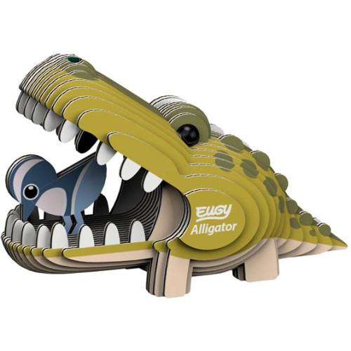 Eugy - 3D Model Craft Kit - Alligator