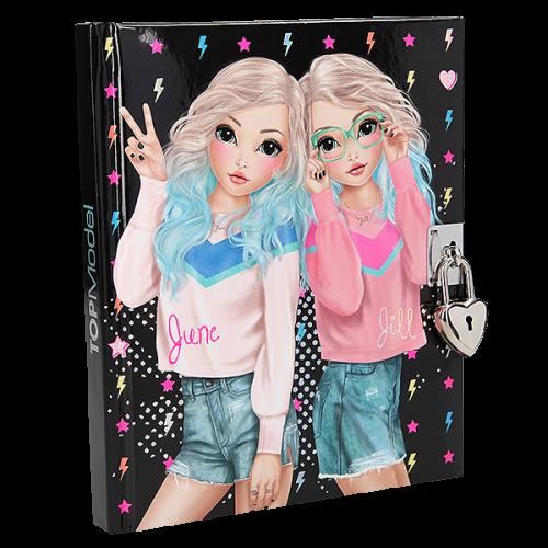 Depesche Top Model Diary, June & Jill