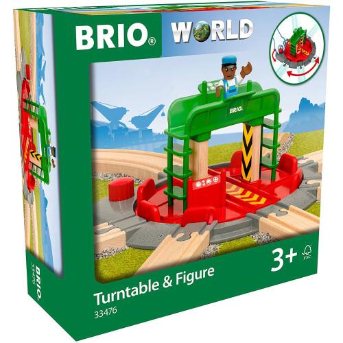 Brio 33476 Turntable & Figure