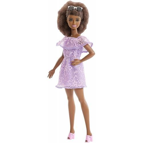 Barbie Fashionistas 93 Purple Dress