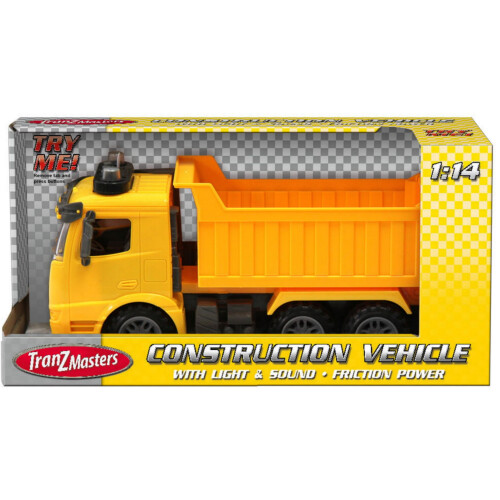 Tranzmasters Construction Truck with Lights & Sound