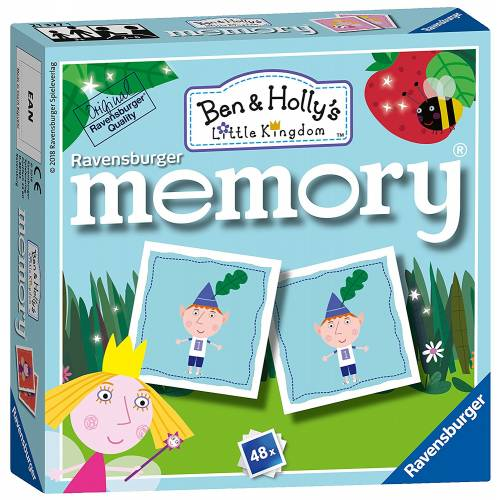 Ravensburger Mini Memory Game Ben & Holly