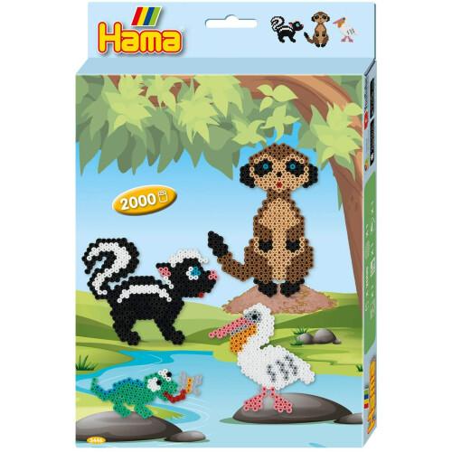 Hama Beads 3446 Meerkat Gift Box