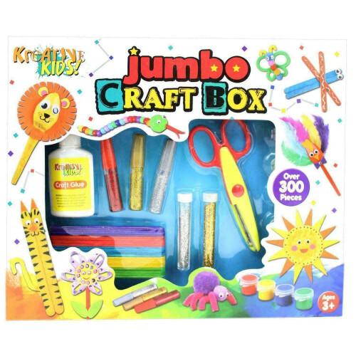 Kreative Kids Jumbo Craft Box