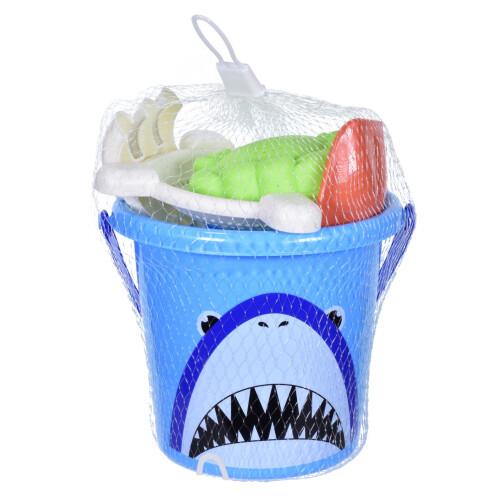 5 Piece Bucket Set - Shark