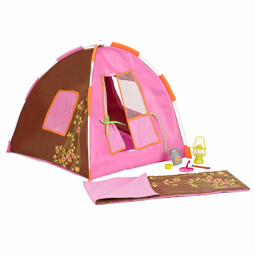 Our Generation Accessories Polka Dot Camping Set