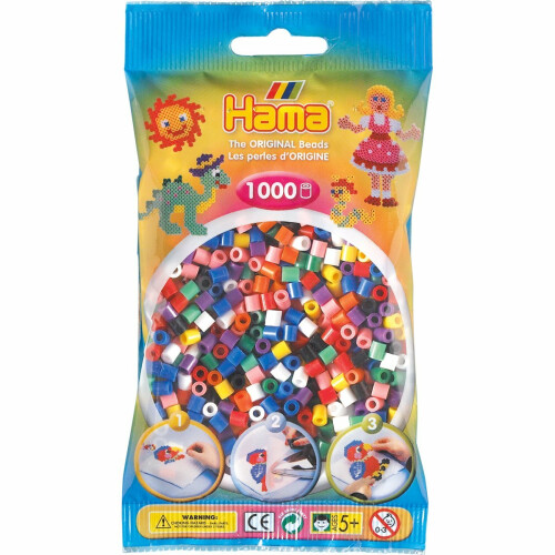 Hama Beads 207-00 Solid Mix