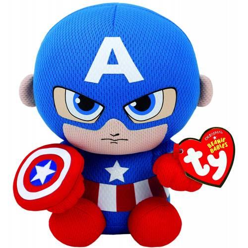 Ty Beanie Babies Captain America