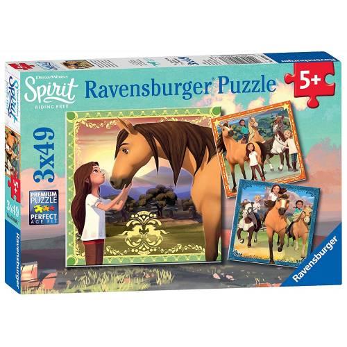Ravensburger 3 x 49pc Puzzles Spirit