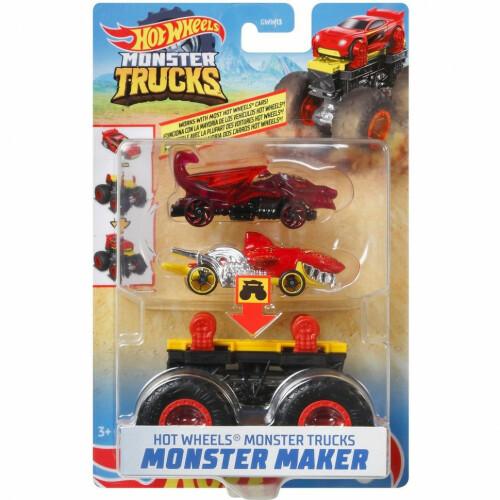 Hot Wheels Monster Trucks Monster Maker  (GWW18)