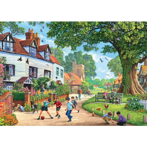 Falcon de luxe Brenchley Village 1000pc Jigsaw Puzzle