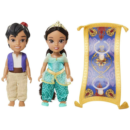 Disney Princess - Petite Aladdin & Jasmine with Magic Carpet