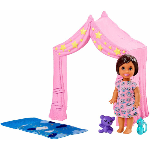 Barbie Skipper Babysitters INC Tent Playset