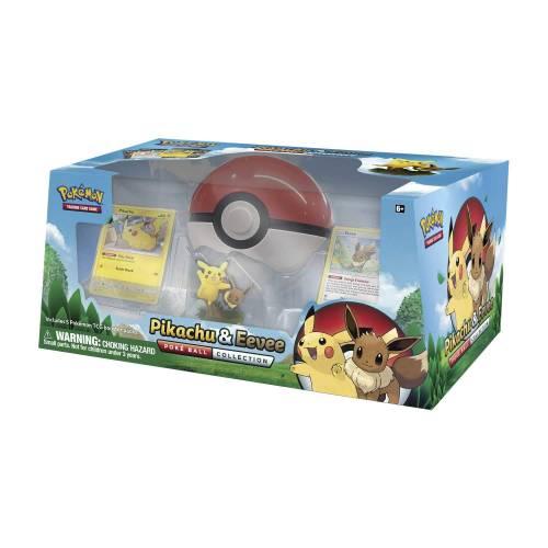 Pokemon TCG Pikachu & Evee Pokeball Collection