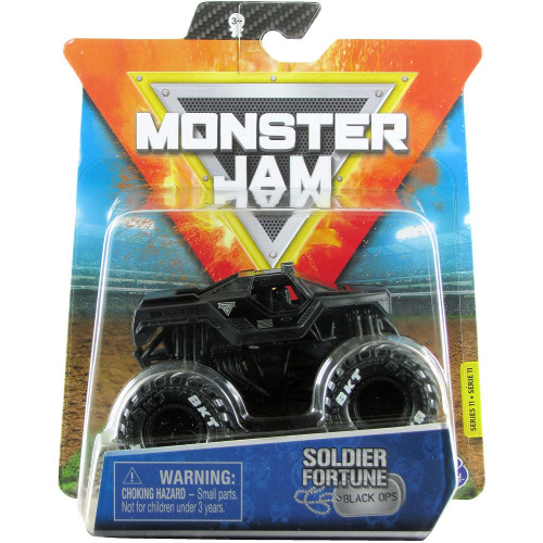 Monster Jam 1:64 - Soldier Fortune Black Ops