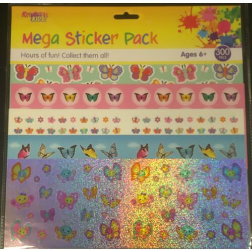 Mega Sticker Pack - Butterflies