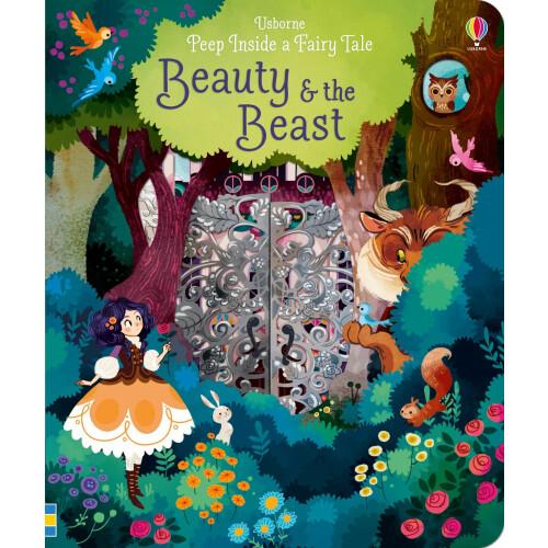 Usborne Books - Peep Inside a Fairy Tale Beauty & the Beast