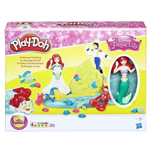 Play-Doh Disney Princess Undersea Wedding