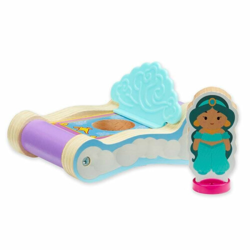 Disney Princess Wooden Mini Carriage - Jasmine's Magic Carpet