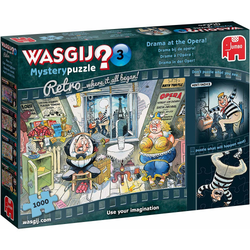 Wasgij? Original 3 1000pc Jigsaw Puzzle Drama at the Opera!