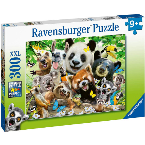 Ravensburger 300 XXL Piece Puzzle Wildlife Selfie
