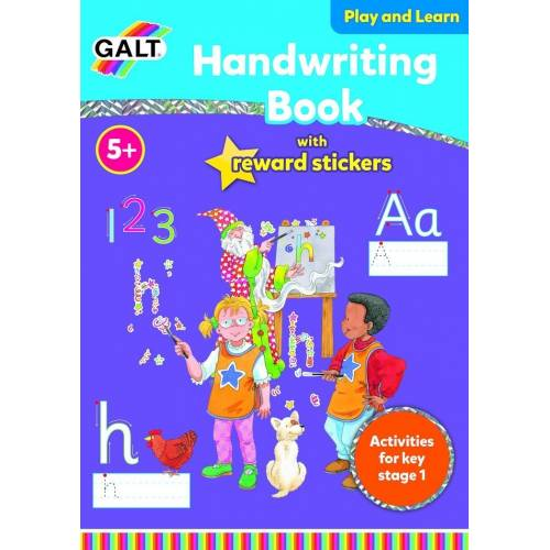 Galt Handwriting Book With Reward Stickers
