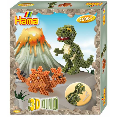 Hama Beads 3250 3D Dino Gift Box
