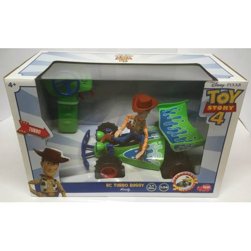 Toy Story 4 RC Turbo Buggy with Woody