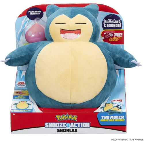 Pokemon Snooze Action Snorlax