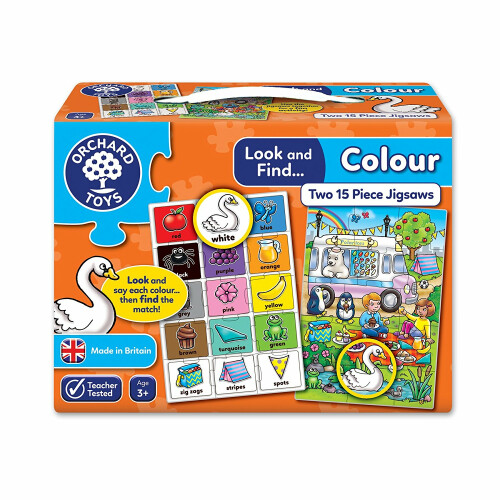 Orchard Look and Find Colour Jigsaw Puzzle