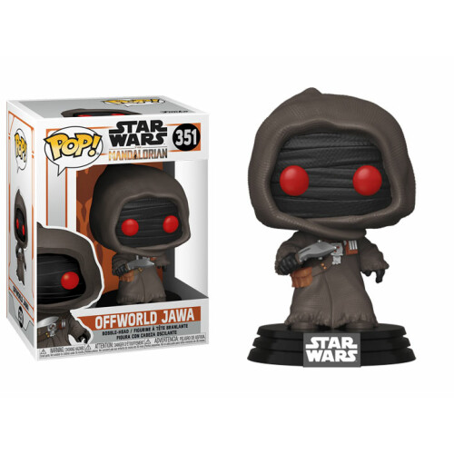 Funko Pop Vinyl - Star Wars The Mandalorian - Offworld Jawa 351