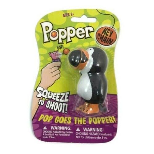 Popper Key Chain - Penguin