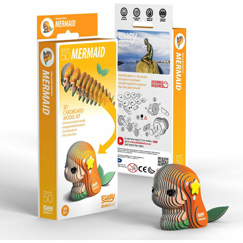 Eugy - 3D Model Craft Kit - Mermaid