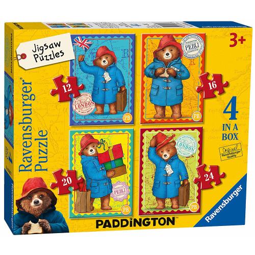 Ravensburger 4 Puzzles in a Box Paddington