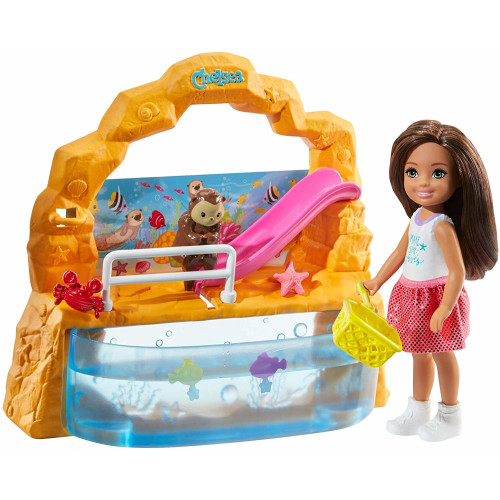 Barbie Club Chelsea Doll and Aquarium Playset