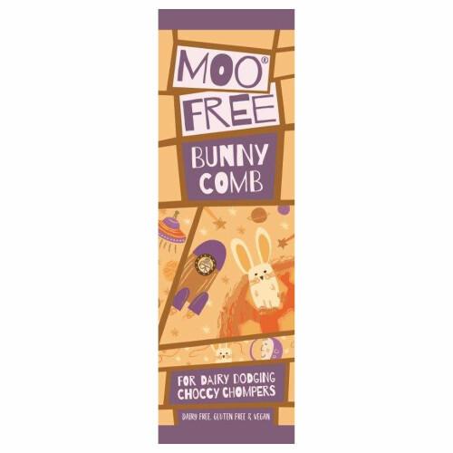 Moo Free Bunnycomb Chocolate Bar
