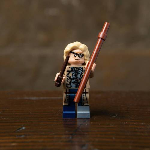 Lego Harry Potter Minifigure Mad-Eye Moody