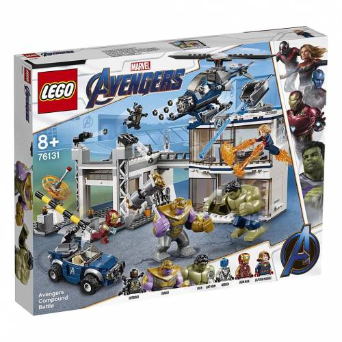 Lego 76131 Super Heroes Avengers Compound Battle