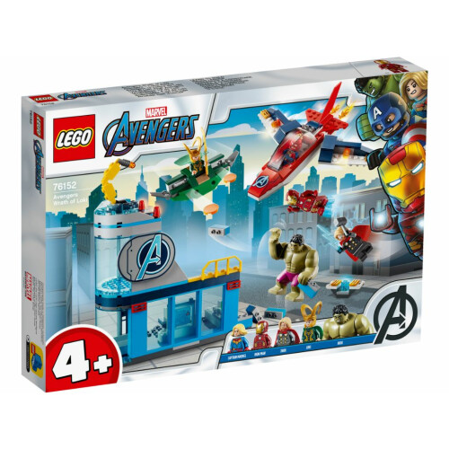 Lego 76152 Avengers Wrath of Loki | Toys n Tuck