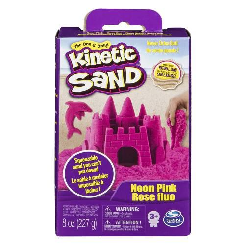Kinetic Sand Pink 8oz Box