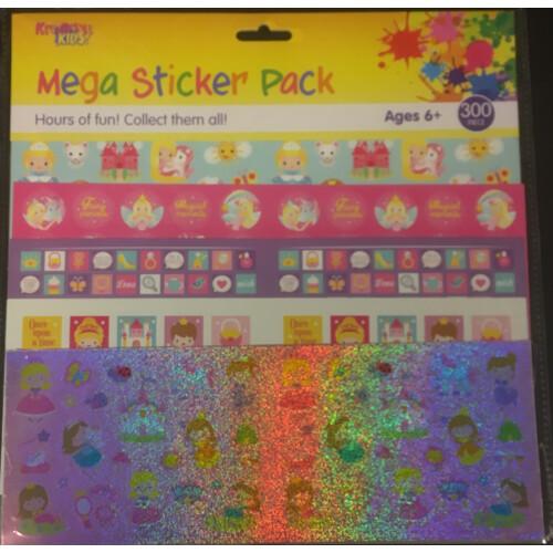 Mega Sticker Pack - Princess