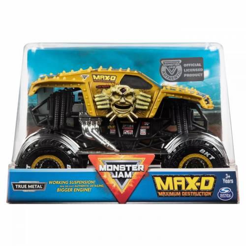 Monster Jam - 1:24 Scale - Max-D Maximum Destruction (Gold)