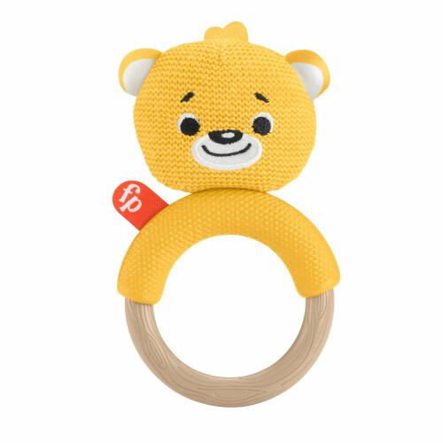 Fisher Price Knit Teether Bear