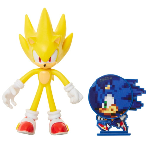 Sonic The Hedgehog Bendable Figure - Super Sonic