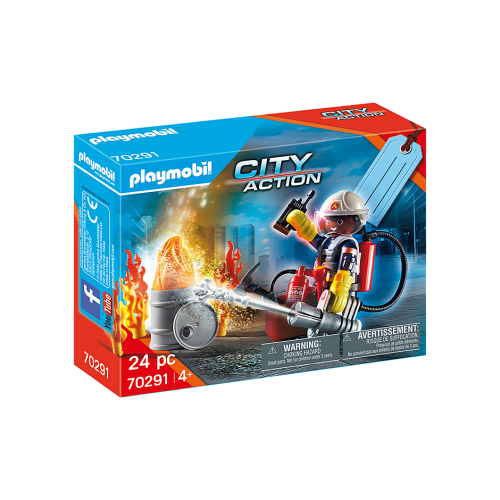 Playmobil 70291 City Action Fire Rescue Gift Set
